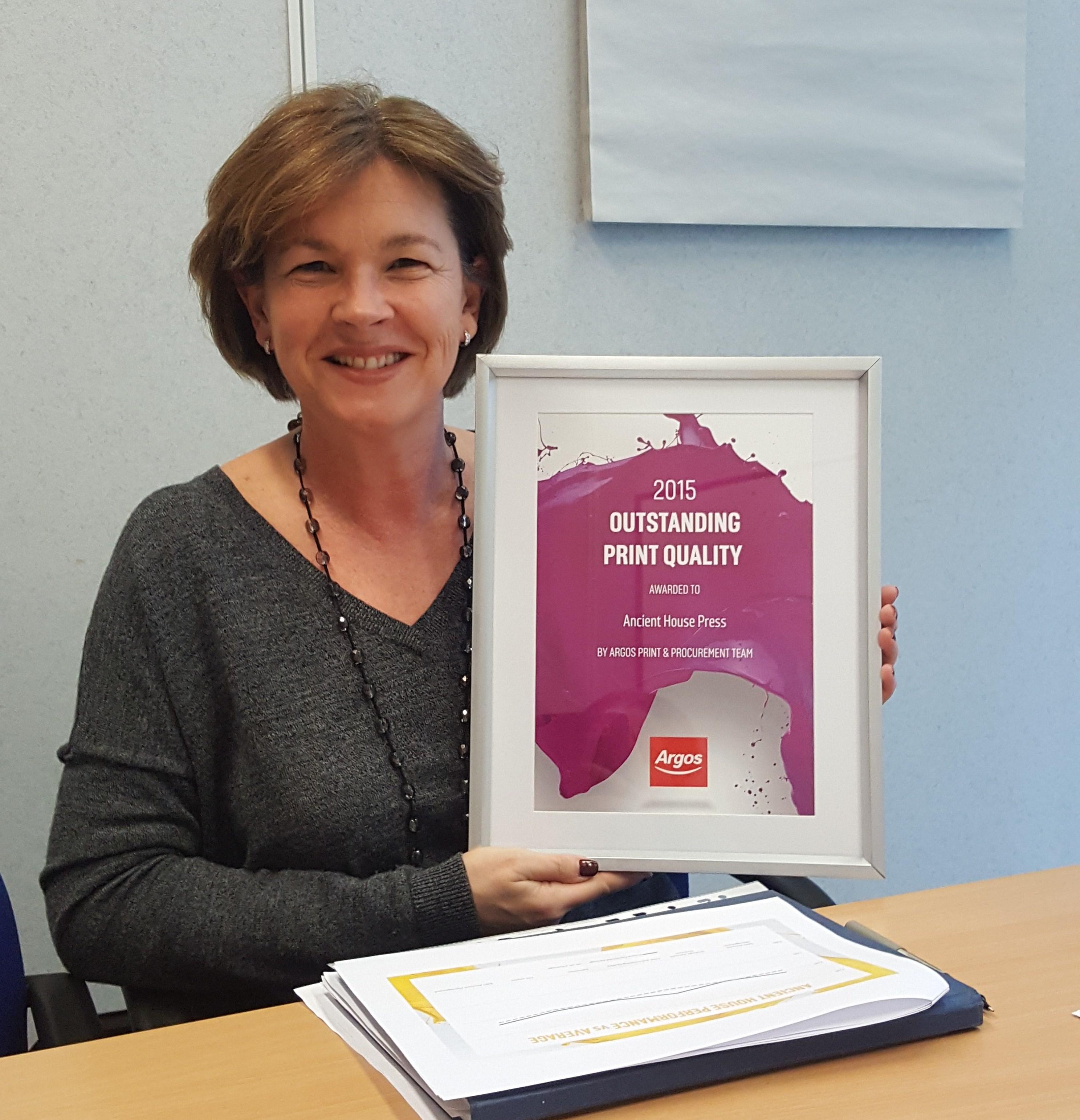 Argos Allison Berry Outstanding Print Quality Award 4