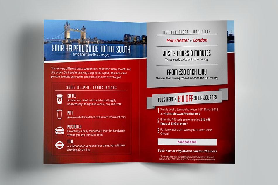 Virgin trains sells tickets door drop